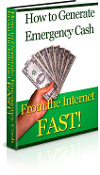How to Generate Emergency Cash From the Internet Fast